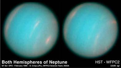 Clouds on Neptune Internal Structures Jupiter, Saturn, Uranus, and