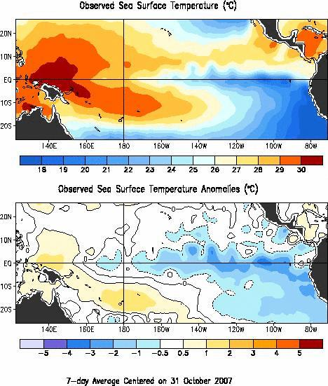 Winter Outlook LaNina conditions are present across the tropical Pacific basin.