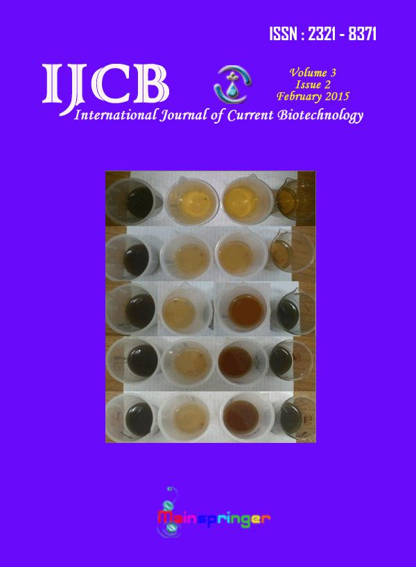 Anil Ramdas Shet, Pritam Ghose, Laxmikant Patil, and Veeranna Hombalimath, A preliminary study on green synthesis and antibacterial activity of silver nanoparticles, Int.J.Curr.Biotechnol.
