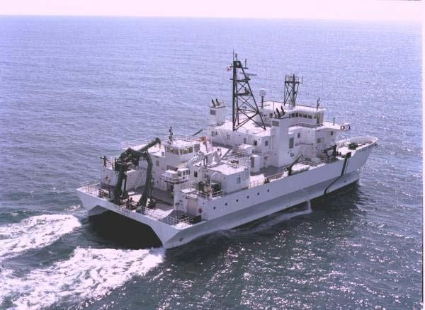 NOAA & UH Pacific Ships and Acoustics