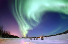 Magnetosphere Even though we cannot see the magnetosphere, we can see the aurora (or northern lights) in the Northern and