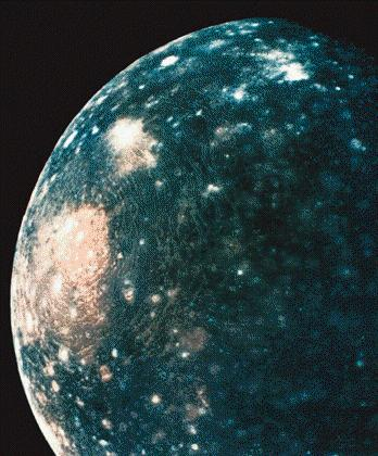 Callisto) Craters erased by