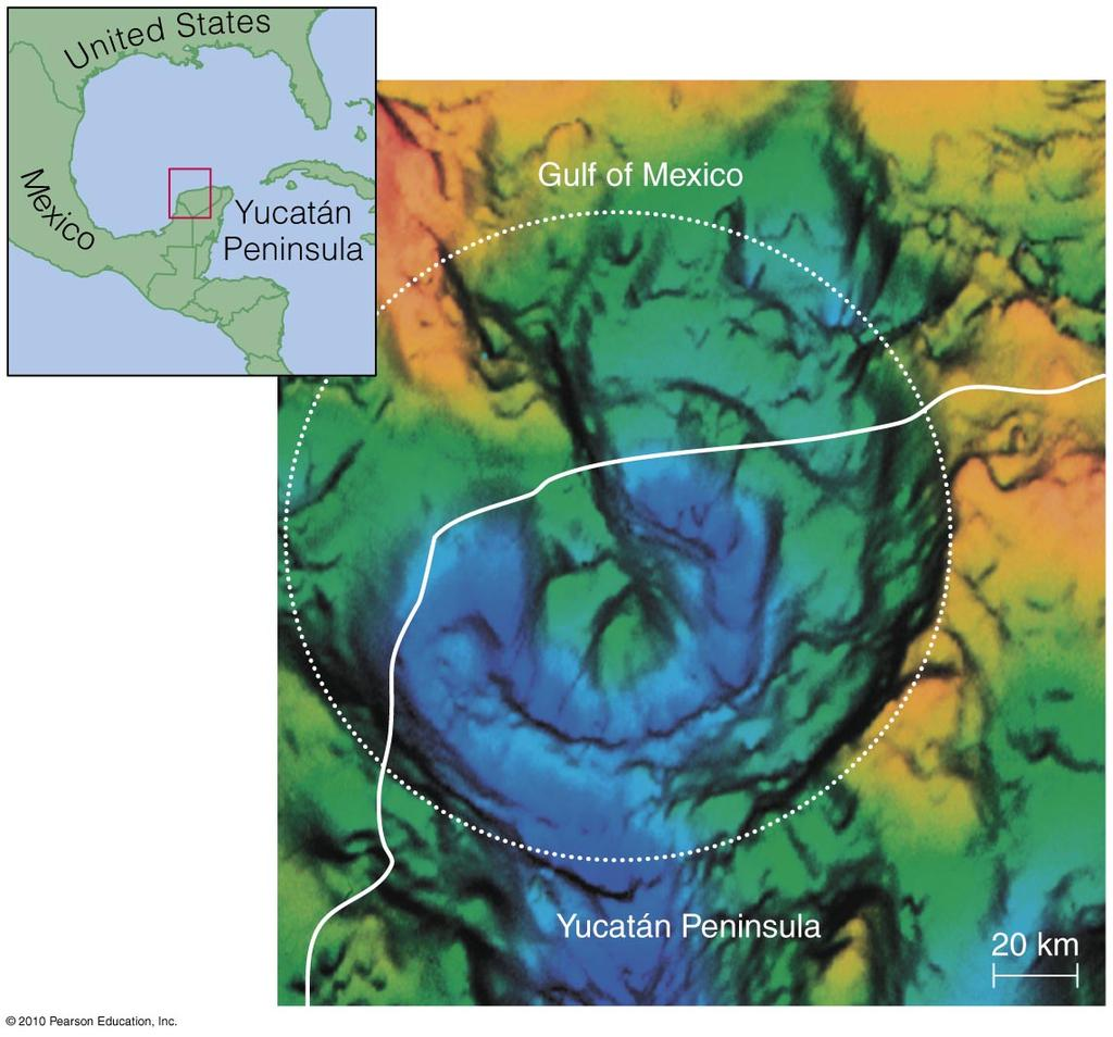 Likely Impact Site Geologists have found a large