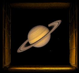 Saturn is the only planet that can be seen from Earth with a
