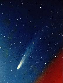 Comets More than 100 billion comets orbit slowly around the outside edges of the Solar System.