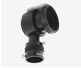 This type of guiding produces the best results since what you see through the guiding eyepiece is exactly reproduced on the processed film.
