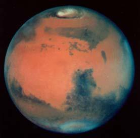 Mars viewed by the Hubble