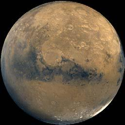 The north pole of Mars: