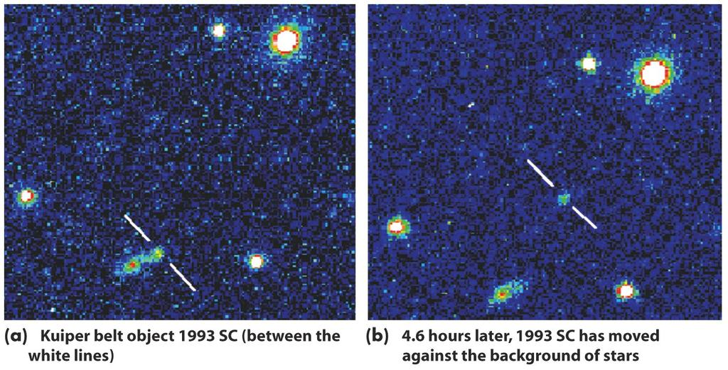 Many Jupiter-family comets probably come from the Kuiper belt,