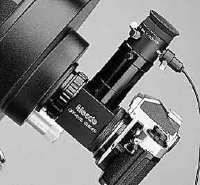 #62 T-Adapter: The T-Adapter (Fig. 22) is the basic means of prime-focus photography through all Meade Schmidt-Cassegrain models.