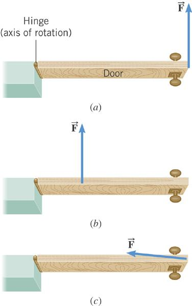 8.6 The Action of Forces and Torques on Rigid Objects The amount of torque depends on where and in what direction the force is applied, as well as the location of the axis of