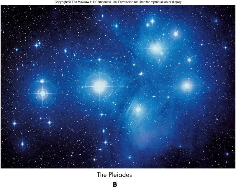 Reflection Nebula A nebula may be seen in the visible as the result of