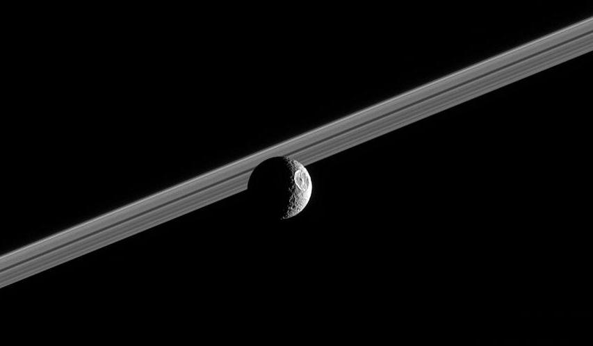Mimas Smallest and innermost