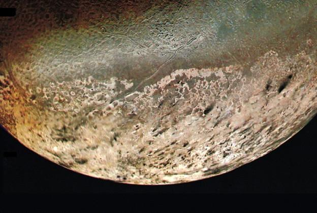 Neptune s largest moon, Triton, was