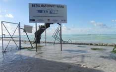 developed for low lying atolls of Kiribati Lack of digital