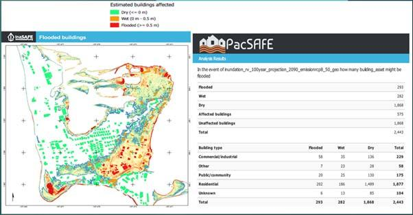 wave and finalizing inundation hazard maps