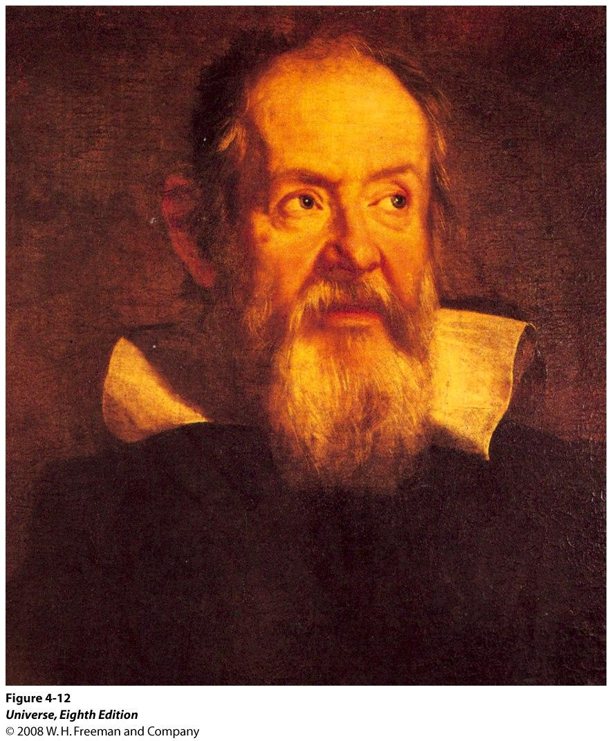 Galileo Galilei (1564 1642) Galileo was one of the first people to use a telescope to observe the heavens.