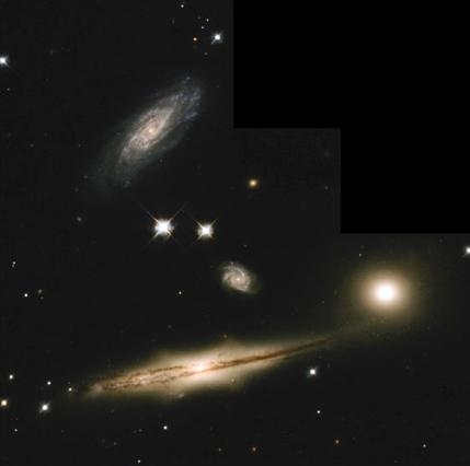 often in dense clusters of galaxies (involve