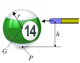 By considering forces acting on the cylinder, show that the acceleration of the center of mass
