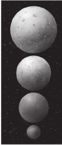 Visual Check 8. Identify Which is the largest dwarf planet? Reading Check 9. Locate Where do most asteroids exist? 10.