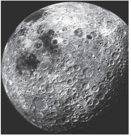 Cratering of Moon Some areas of Moon are more heavily cratered than