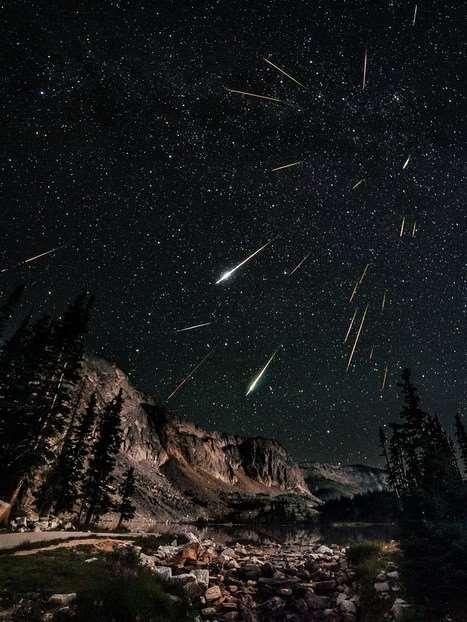 Meteors As they fall through the atmosphere, friction from air molecules heat the surface of the meteor and melt/break it apart.