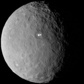 Ceres The largest object in the asteroid belt between Mars and