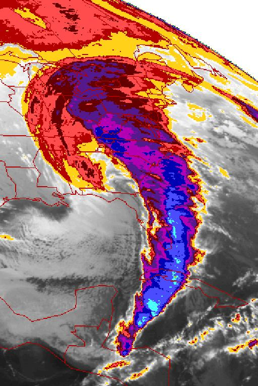 Impacts of Extratropical Storms Storm of the Century March 93 Snow/Cold Trace - 4 inches Northern FL 3 inches in Tallahassee Sub-freezing Temperatures Wind 8 to 12 hrs of