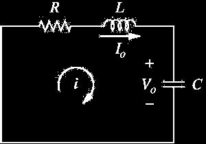 Source-Free Series RLC Circuits The solution of the source-free series RLC circuit is called as the natural response of the circuit.