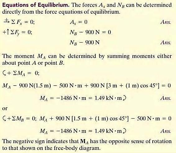 47 Two and Three-Force Members Simplify some equilibrium problems by