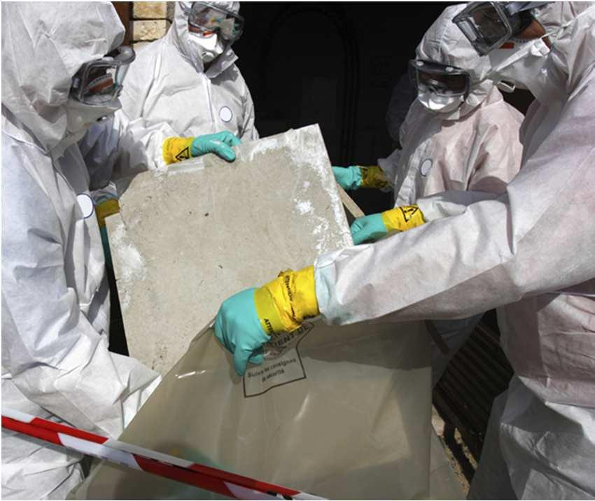 21 Asbestos Asbestos is a group of natural mineral fibers. Asbestos was used in the past in construction products.