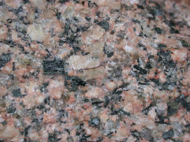 Gneiss: layering