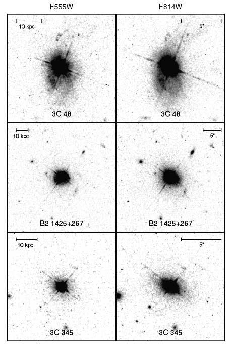 Chapter 21: Quasars Quasars Discovered as Radio Sources Stellar-like Blue Objects Spectra Revealed Broad, Redshifted Emission
