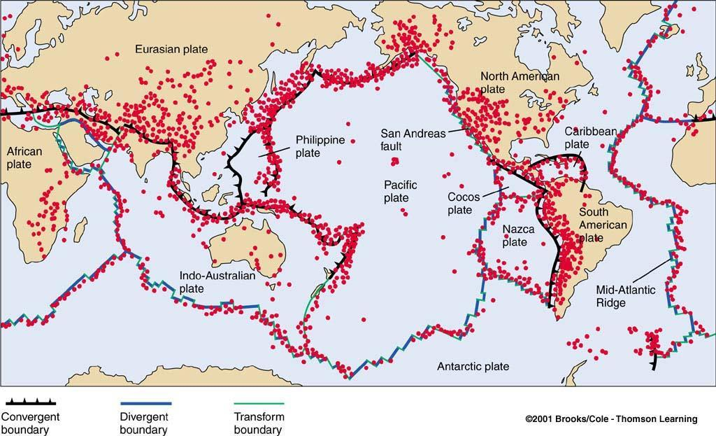 Where Do Earthquakes Occur and How Often?