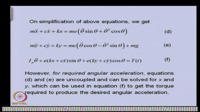 So basically, these are already coupled equations but for special cases, we can de-couple them. So we will see that, how we can able to de-couple.