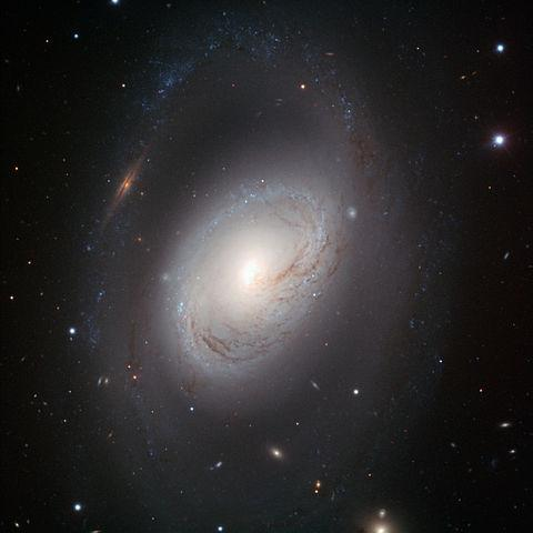 It is a spiral galaxy about 31 million light-years away in the constellation Leo.