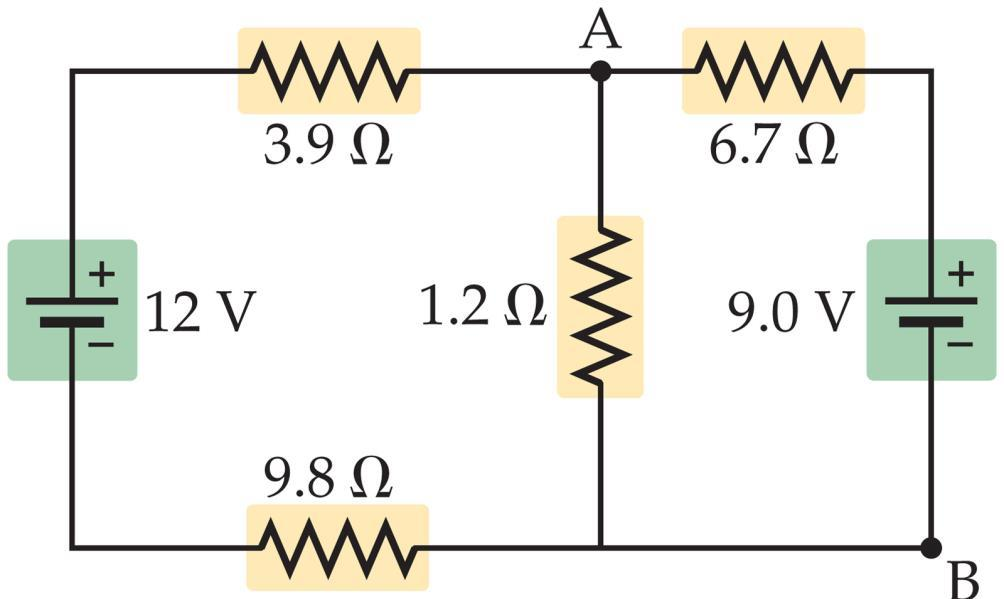 21-5 Kirchhoff s Rules More complex circuits cannot be broken down into series and parallel pieces.