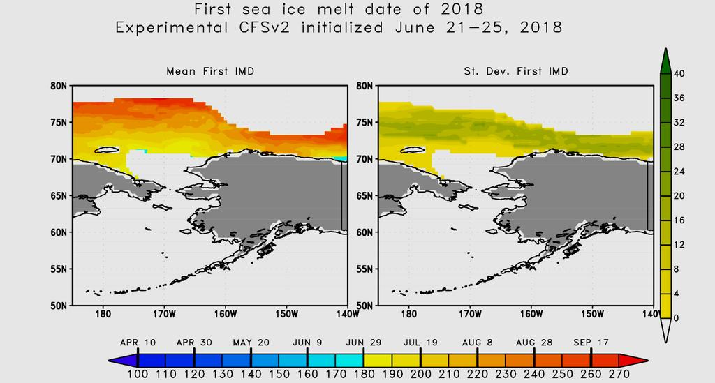 Sea Ice Summer Melt-out
