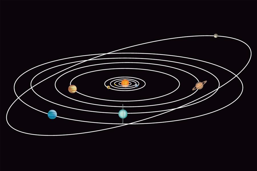 What is the solar system? 11.