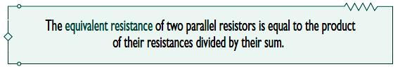 We can extend the result in Eq. (4) to the general case of a circuit with N resistors in parallel.
