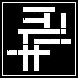 "1 ACROSS ""Blessed are those who are persecuted for righteousness' sake, for theirs is the kingdom of."" MATTHEW 5:10 2 DOWN ""Now Joseph had been taken down to."