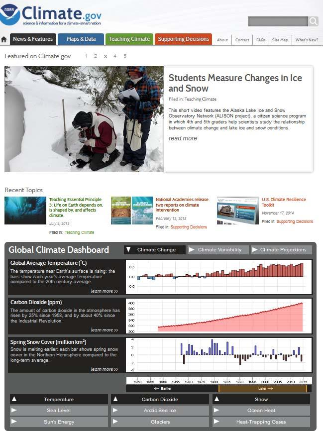 Climate Monitoring and