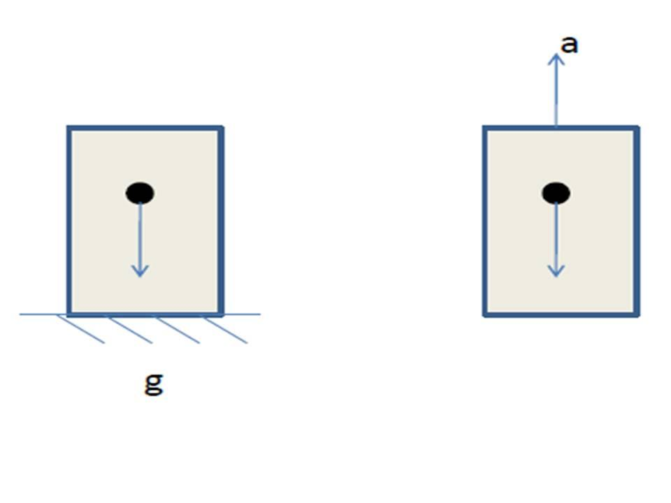 falling balls in these two elevators would be the same. Therefore, one can eliminate gravity by going to a freely falling frame (Fig. 2.7). Figure 2.