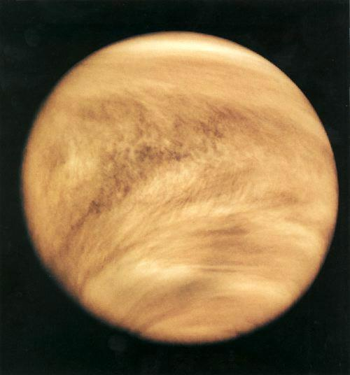 Venus Venus is the brightest object in the sky after the sun and moon because its atmosphere reflects sunlight so well.