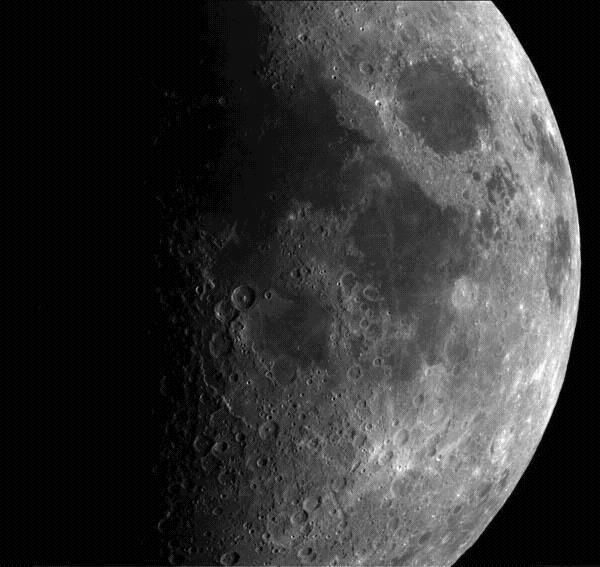 Earth s Moon It takes the moon approximately 29 days to complete one rotation. The same side of the moon always faces us. 59% of total surface of moon is visible from earth.