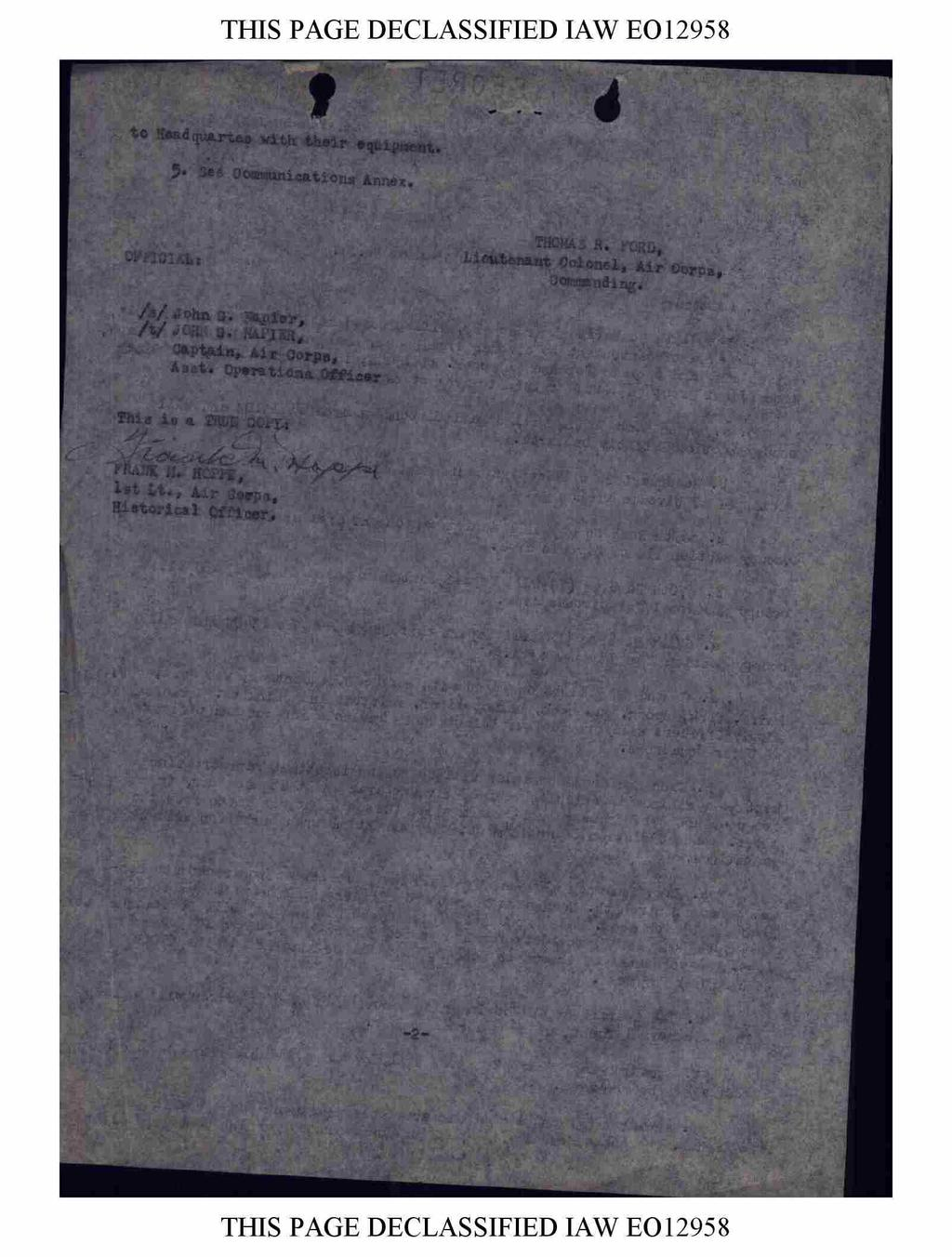 THIS PAGE DECLASSIFIED IAW EO 2958