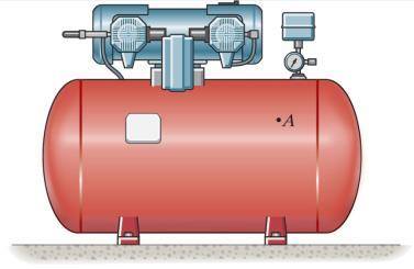 thickness (r/t 10) Example 8 The tank of the air compressor is subjected to an internal pressure of 90 psi.
