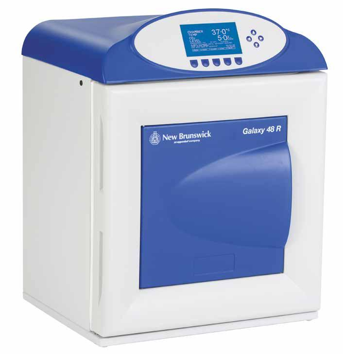 316 Cell Handling CO 2 Incubator Galaxy 48 R Cell Handling 317 Galaxy 48 R The Galaxy 48 R CO 2 Incubator is a mid-sized, 48 liter incubator designed to optimize performance in applications that