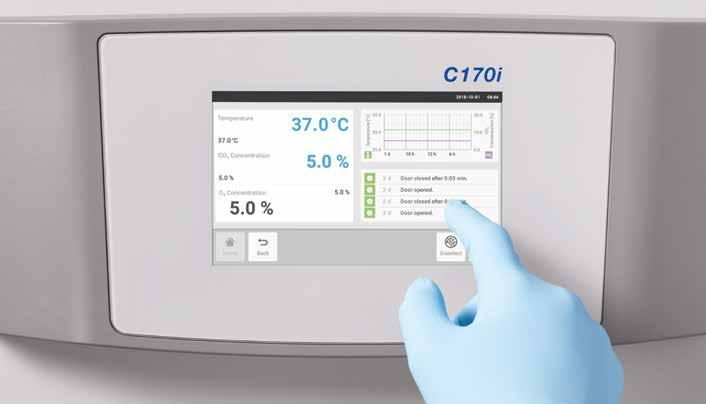 318 319 Cell Handling Cell Handling CellXpert C170i Make your cell culture ready for the future Are you looking for a 170 L-class CO 2 incubator that provides flexibility for the future, makes