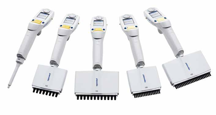 38 39 Liquid Handling Liquid Handling PIPETTING Eppendorf Xplorer /Eppendorf Xplorer plus Eppendorf Xplorer Single-channel pipettes PIPETTING 1.